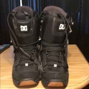 DC Snowboard boots perfect working condition.
